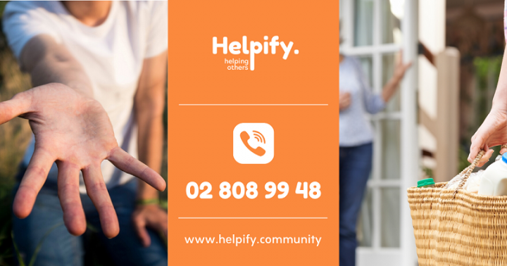 Helpify Community: local solidarity network