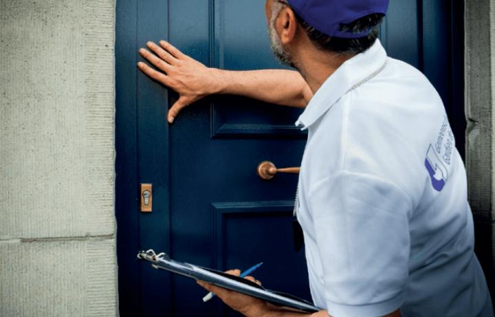 Tips against home burglaries