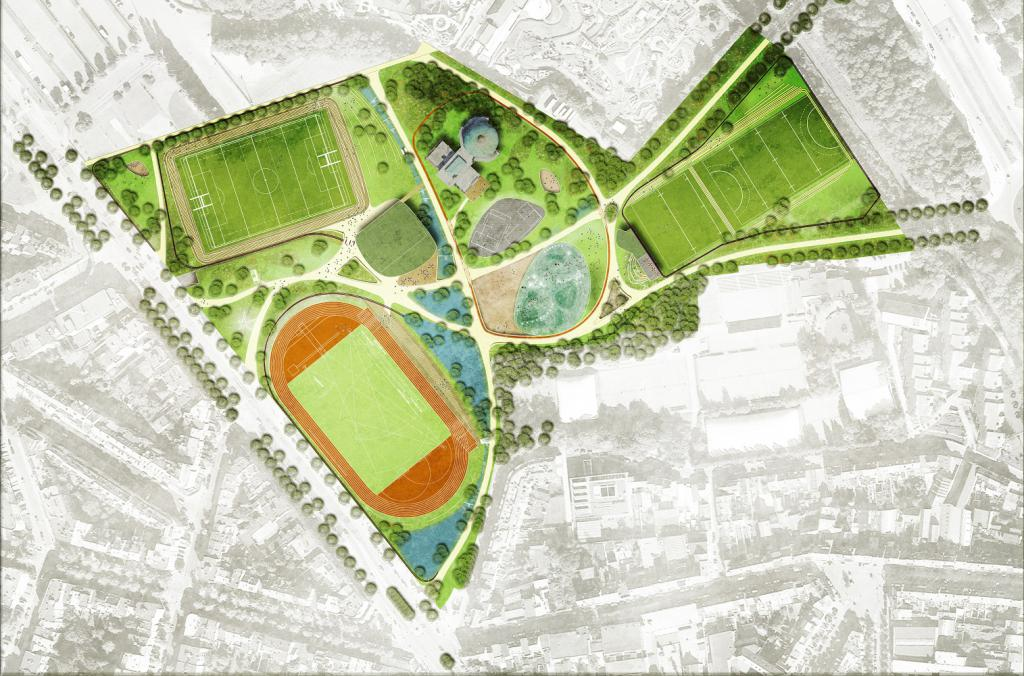 Sports park (map)