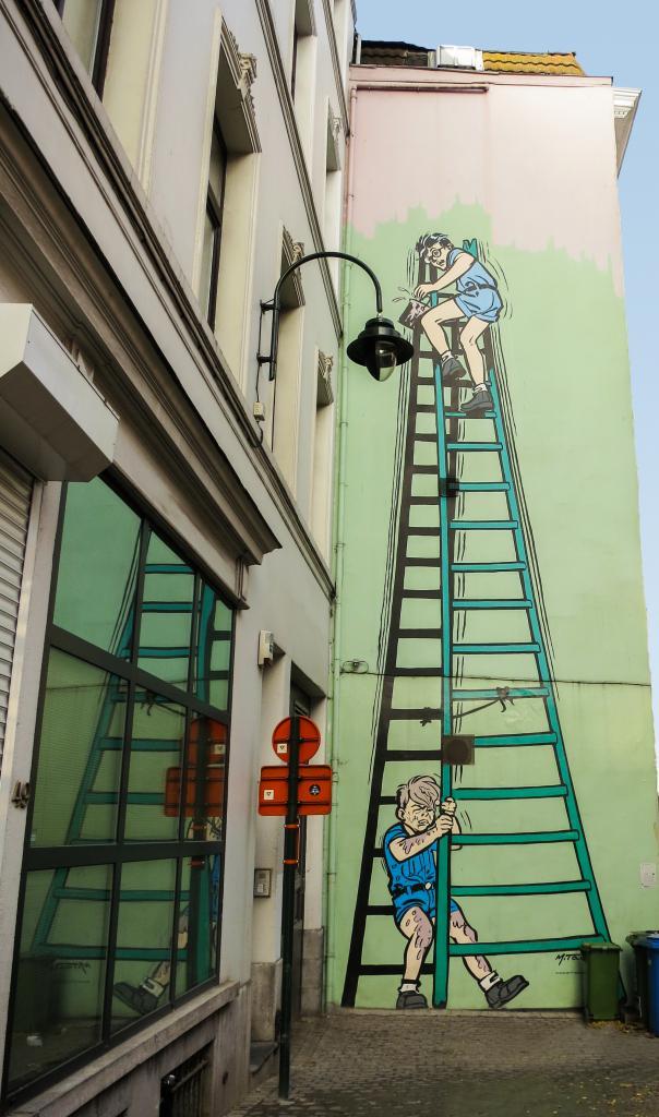 La Patrouille des Castors (Mitacq) - Rue Blaes