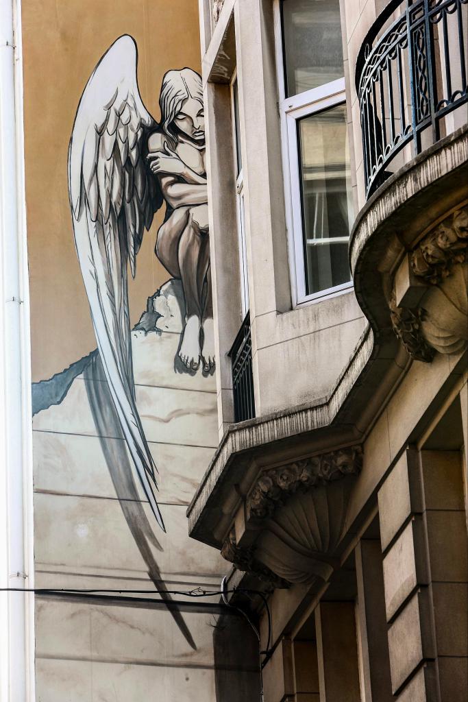 L'Ange de Sambre (Yslaire) - Rue des Chartreux