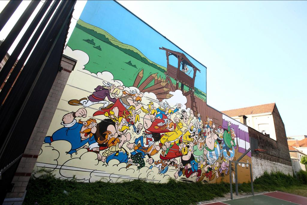 Astérix & Obélix (Goscinny et Uderzo) - Rue de la Buanderie