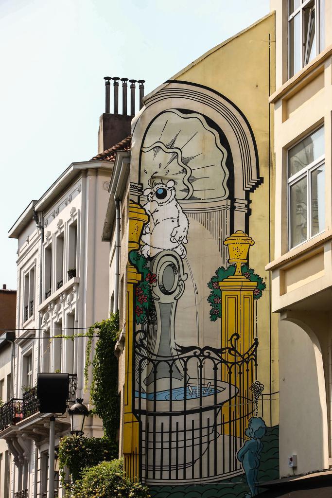Cubitus (Dupa) - Rue de Flandre
