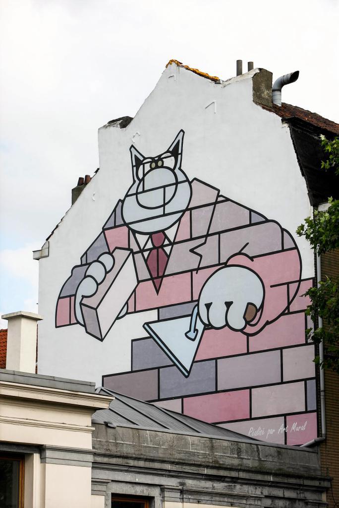 Le Chat (Geluck) - Boulevard du Midi