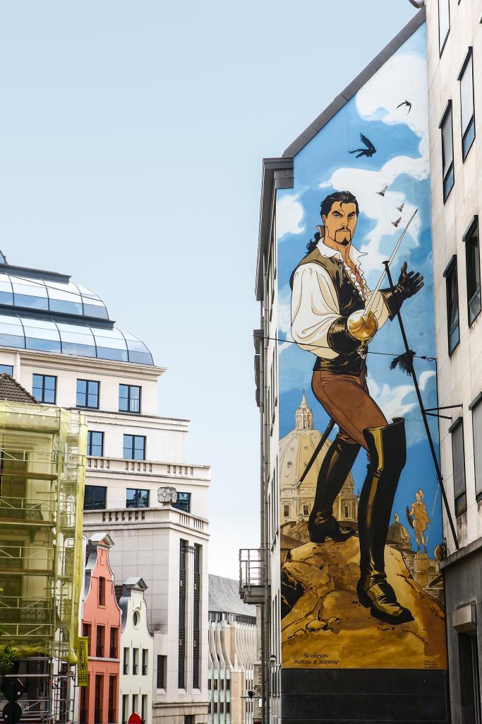 Le Scorpion (Marini) - Rue Treurenberg