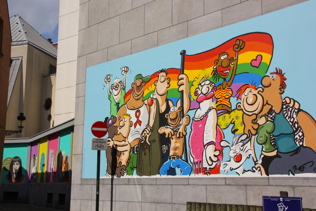 LGBT (Ralf König) - Rue de la Chaufferette