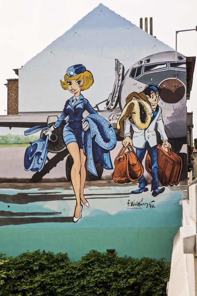 Natacha (François Walthéry) - Rue Jan Bollen