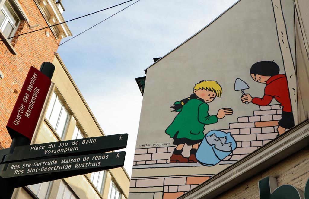 Quick & Flupke (Hergé) - Rue Notre-Seigneur 19