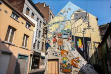 Boule & Bill (Roba) - Rue du Chevreuil - click to enlarge