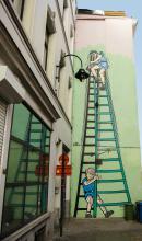 La Patrouille des Castors (Mitacq) - Rue Blaes - click to enlarge