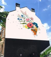 Solastalgie (Eva Roussel) - Rue Victor Mabille 6 - click to enlarge