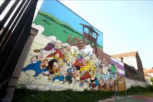 Astérix & Obélix (Goscinny et Uderzo) - Rue de la Buanderie - click to enlarge