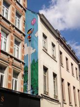 Benoît Brisefer (Peyo) - Rue Haute - click to enlarge