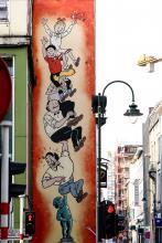Bob & Bobette (Spike and Suzy - Willy and Wanda) (Vandersteen) - Rue de Laeken - click to enlarge