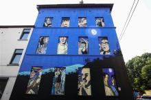 Caroline Baldwin (Taymans & Wesel) - Rue de la Poudrière - click to enlarge