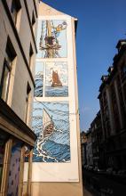 Cori le Moussaillon (Bob de Moor) - Rue des Fabriques - click to enlarge
