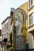 Cubitus (Dupa) - Rue de Flandre - click to enlarge