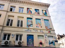 Froud & Stouf (F. Jannin & S. Liberski) - Boulevard Lemonnier - click to enlarge