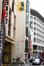 Gaston Lagaffe (Franquin) - Rue de l'Écuyer - click to enlarge