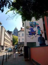 Léonard (Turk) - Rue des Capucins - click to enlarge