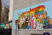 LGBT (Ralf König) - Rue de la Chaufferette - click to enlarge