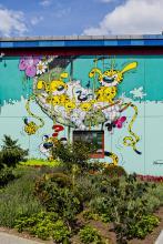 Marsupilami (Franquin) - Avenue Houba de Strooper - click to enlarge