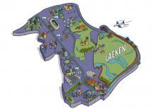 Map of Laeken - click to enlarge