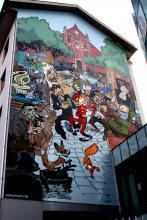 Spirou (Yoann) - Rue Notre-Dame de Grâces - click to enlarge