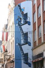 Tintin (Hergé) - Rue de l'Etuve - click to enlarge
