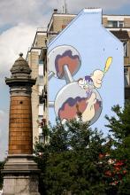 Titeuf (Zep) - Boulevard Emile Bockstael - click to enlarge