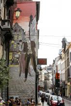 Victor Sackville - Rue du Marché au Charbon - click to enlarge